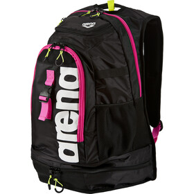 arena Fastpack 2.1 Backpack 45L, black-fuchsia-white